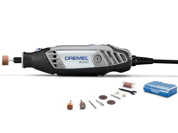 Micro Retifica Dremel 3000 - Kit com 10 Acessorios - DREMEL - 110V