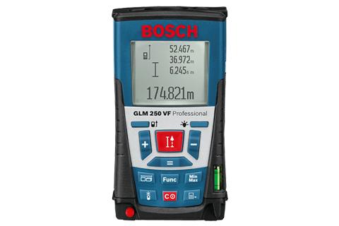 Medidor de Distância a Laser GLM 250 VF Professional Bosch