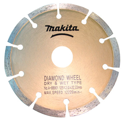 Disco Diamantado Segmentado 125mm - A-88901 - MAKITA