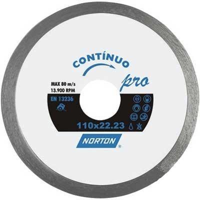 Disco Diamantado Pro Continuo 4.1/2 Pol. - NORTON