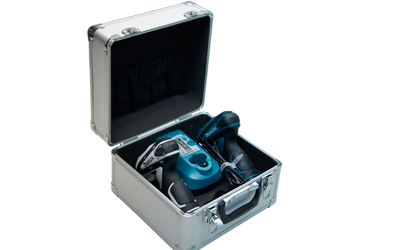 Kit com 2 Parafusadeira Furadeira a Bateria - DK1478 - MAKITA - 220V