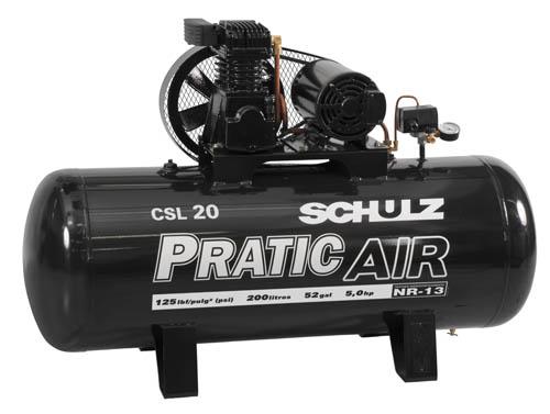 Compressor de Ar Schulz Pratic Ar CSL 20/200