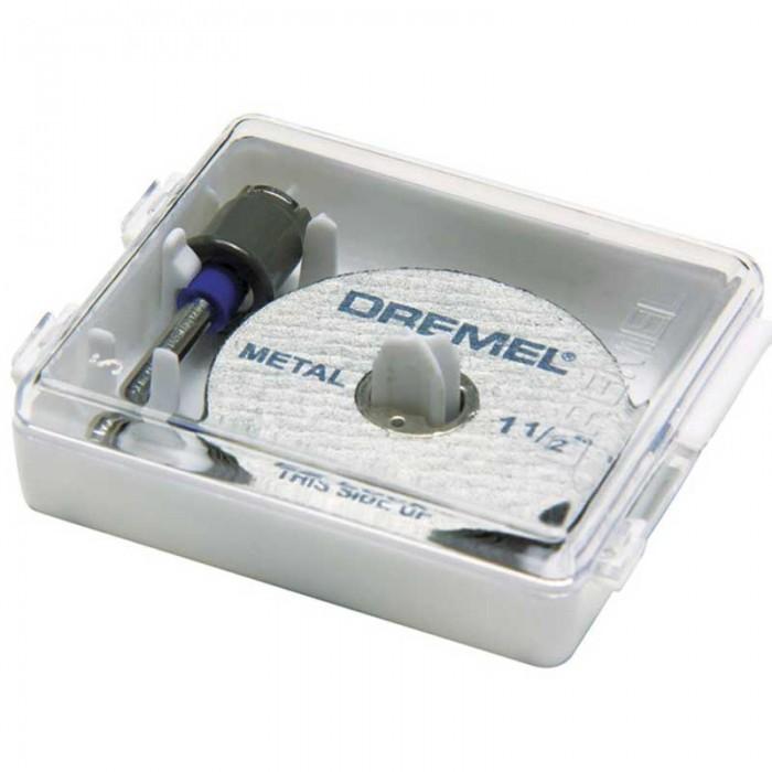 Jogo 1 Mandril e 2 Discos EZ406 - DREMEL