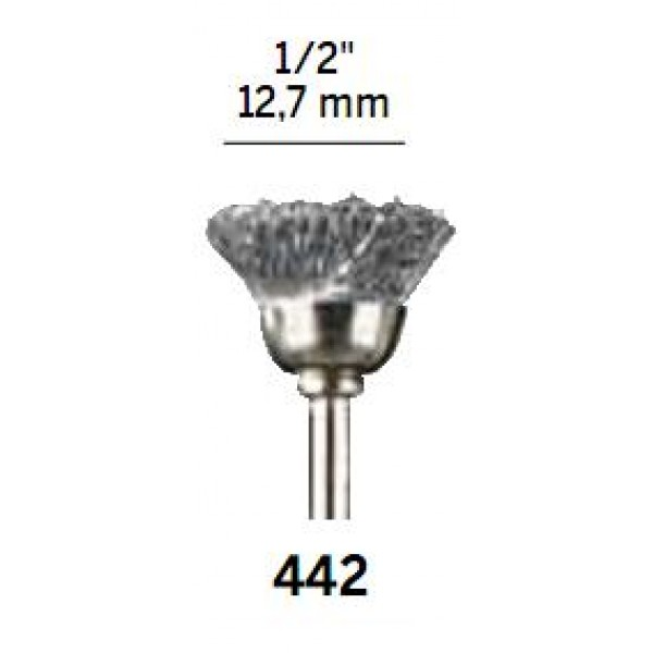 Escova de Aço 442 - DREMEL