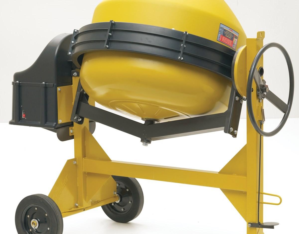 Betoneira Fischer MOB 400 L- Com Motor - Bivolt 110V/220V