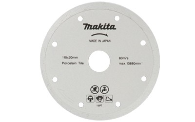 Disco Diamantado Liso - 110x20mm - B-22919- MAKITA