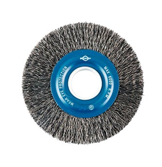 "Escova de Aço Circular - 6""-3/4"" Carbono - BRASFORT"
