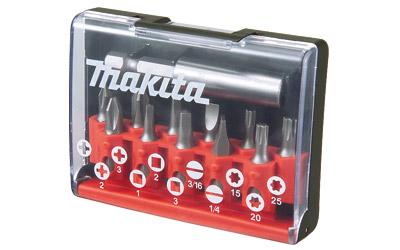 Jogo De Bits Fix Magnet - 12 Peças - D-31619 - MAKITA