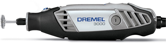 Micro Retifica Dremel 3000 - Kit com 10 Acessorios - DREMEL - 220V