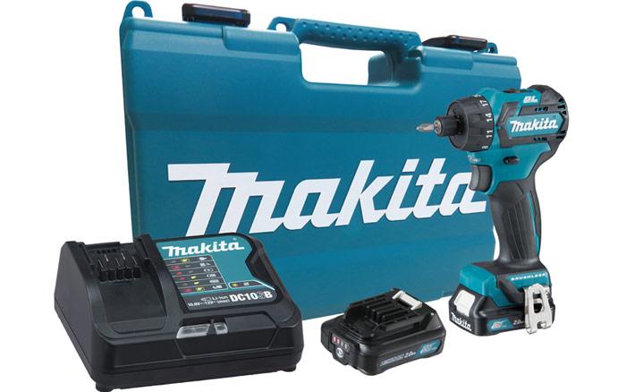 Parafusadeira e Furadeira a Bateria com Maleta - DF032DSAE - MAKITA - BIVOLT