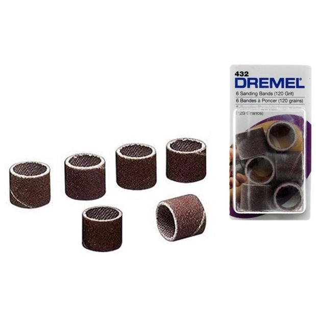 Tubo Lixa 432 - 6 Unidades - DREMEL