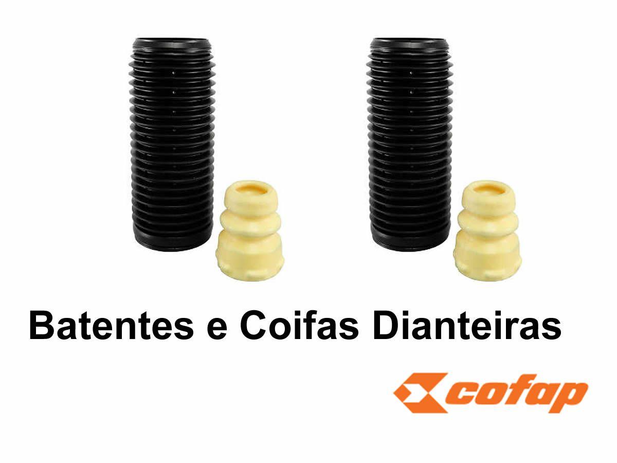 Amortecedor Tiguan Cofap Turbogas Dianteiro e Traseiro + Kit Coxim Batente e Coifa  - Unicar
