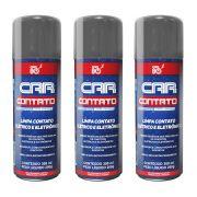 03 Unidades Limpa Contato Eletrico Spray P/ Eletronicos Car80