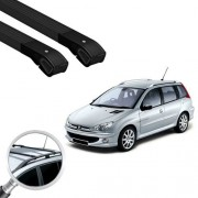 Rack Travessa Peugeot 206/207 Sw Alumínio Long Life Cross