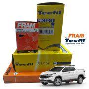 Kit Filtro Ar + Cabine + Combustivel + Oleo Compass Toro Renegade 2.0 16v Diesel