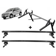 Porta Escadas + Rack Teto Fiat Palio 2 Portas Exceto Modelo Novo Palio