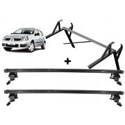 Kit Rack Longlife + Porta Escadas Renault Clio 4 Portas