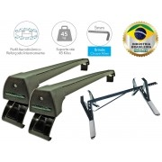 Kit Rack Longlife + Porta Escadas Renault Kwid