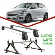 Kit Rack Longlife Steel + Porta Escadas Onix Prisma 4 Portas