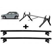 Kit Rack + Porta Escadas Fiat Uno 4 Portas Todos Modelo Quadrado