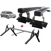 Kit Rack + Porta Escadas LongLife Smart Gol G2 G3 G4 1999 a 2008 2 ou 4 Portas