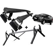 Kit Rack + Porta Escadas LongLife Smart Sandero Todos exceto StepWay