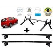 Kit Rack + Porta Escadas NewLife Fiat Novo Uno 2 Portas