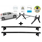 Kit Rack + Porta Escadas NewLife Fiat Novo Uno 4 Portas