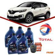Kit Troca de Oleo Elf + Filtro Renault Captur 1.6 16v