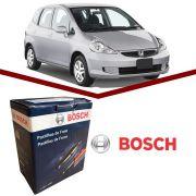Pastilha Freio Dianteiro Honda Fit 2003/2008 Bosch Original