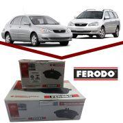 Pastilha Freio Dianteiro + Traseiro Ferodo Ceramica Corolla Fielder 03/08
