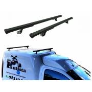 Rack De Teto Fiat Fiorino Todos Modelos LongLife Aço Super Resistente 60 Kg