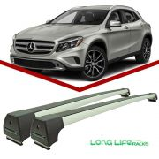 Rack Teto Mercedes GLA Longlife Sport Aluminio