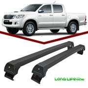 Rack Teto Bagageiro Hilux 2005 2006 2007 2008 2009 2010 2011 2012 2013 2014 2015 2016 2017 Longlife Sports