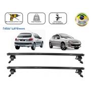 Rack Teto Bagageiro Peugeot 206 / 207 2 Portas Todos Anos
