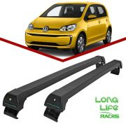 Rack Teto Bagageiro Volkswagen Up 2 e 4 Portas Longlife Sports Preto