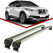 Rack teto Nissan Kicks Longlife Sports Alumínio