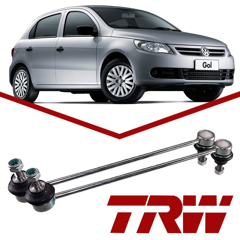 Kit 02 Bieletas Estabilizador Dianteiro VW Up Gol G5 G6 Saveiro Voyage Original TRW