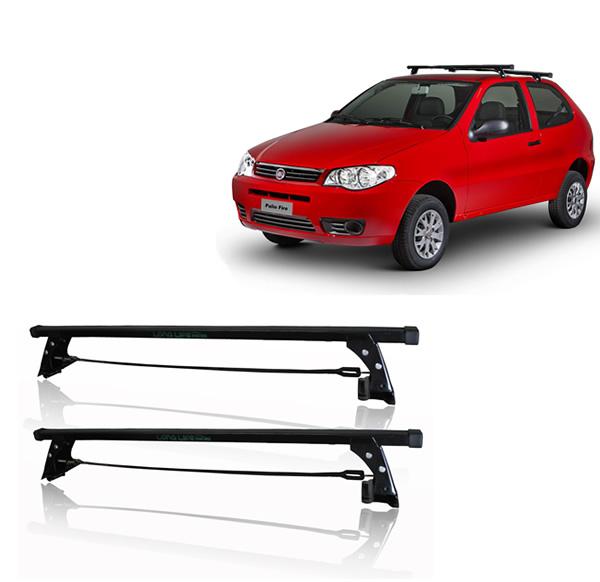 Rack Teto Bagageiro Fiat Palio 2 Portas (Exceto Novo Palio e Grand Siena) Aco Longlife