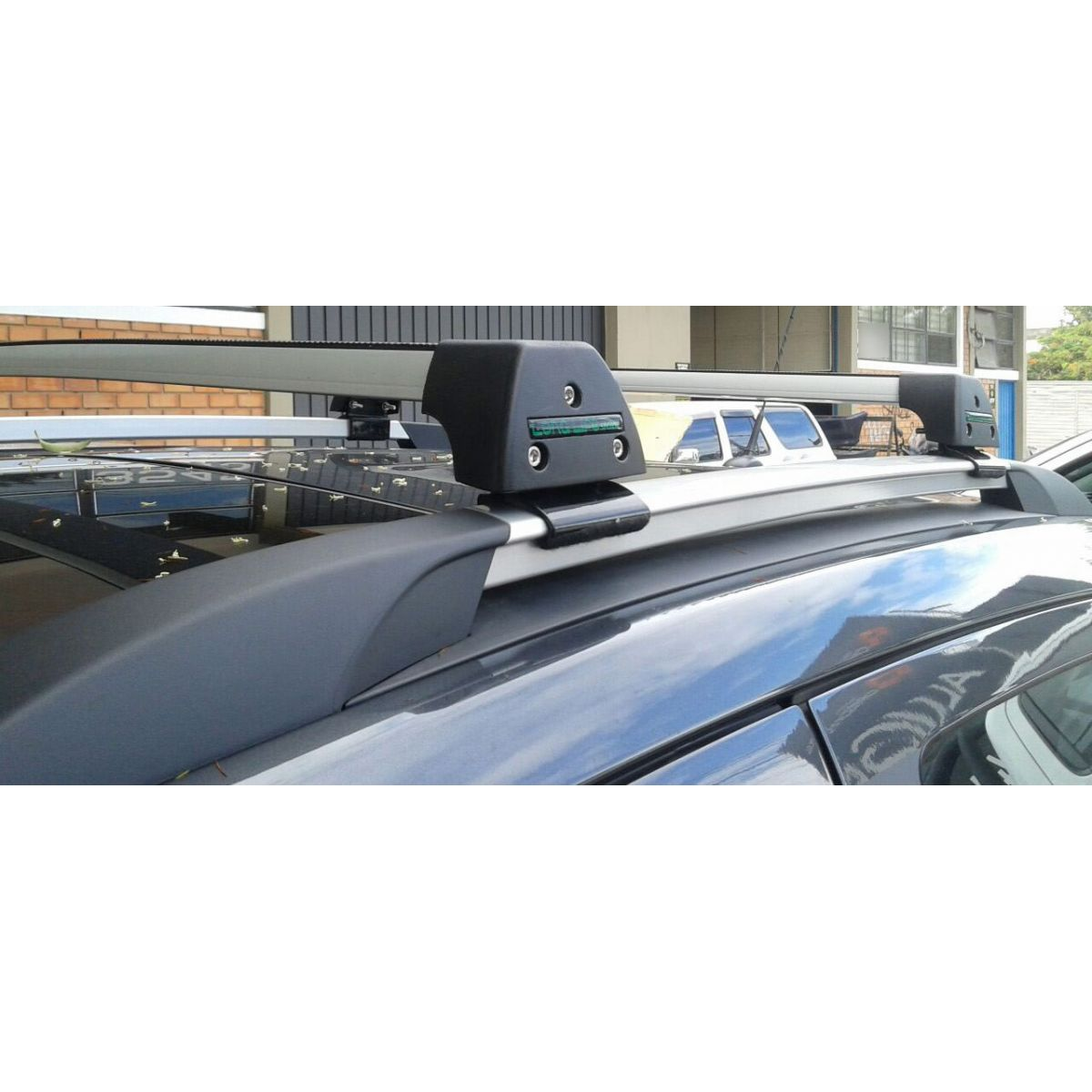 Rack Teto Bagageiro GM Tracker 2014 2015 2016 2017 Com Longarina Longlife Sports Aluminio