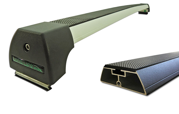 Rack Teto Bagageiro Amarok 2011 Em Diante Longlife Modelo Aluminio Anodizado