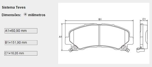 Pastilha Freio Dianteiro Nova S10 Trailblazer 2.4 Flex 2.8 Diesel Após 2012 Original Bosch