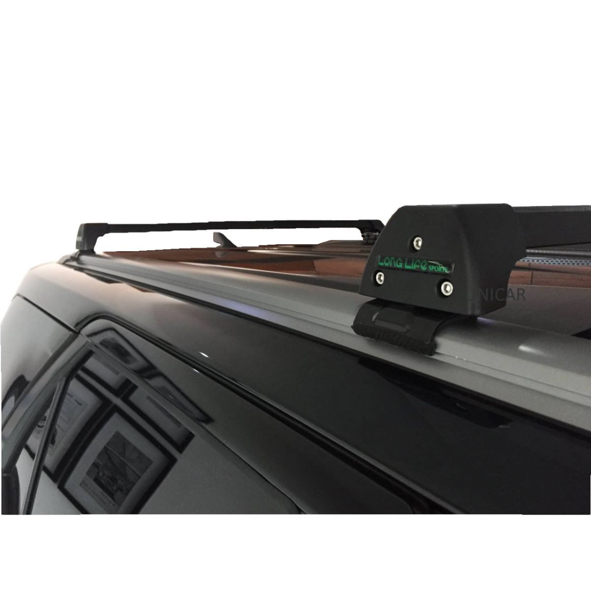 Rack Teto Bagageiro Hilux Sw4 2016 Em diante (Com Longarina de teto) Longlife Modelo Aluminio  - Unicar