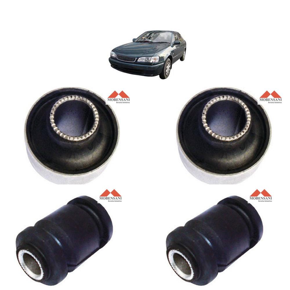 Kit Buchas Balanca Corolla 1997 a 2002 Completa Mobensani  - Unicar