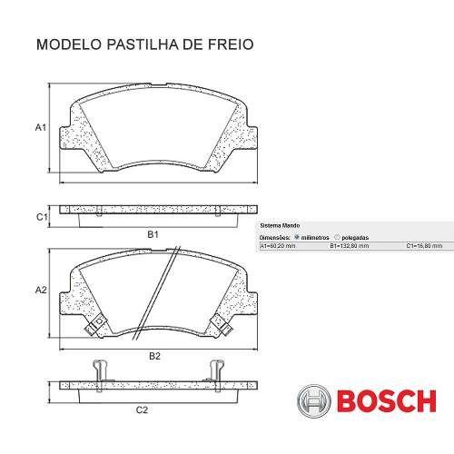Kit Disco + Pastilha Freio Dianteiro Hb20 1.6 16v