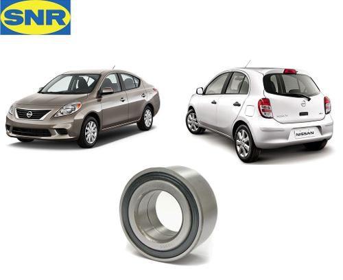 Rolamento Roda Traseira Nissan March Versa Original Snr