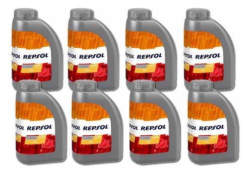 8 Litros Repsol Troca Oleo Cambio Cvt Sentra Fluence