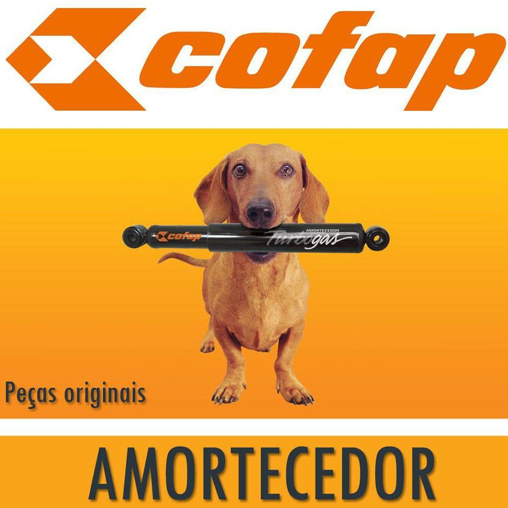 Amortecedor Dianteiro + Kit Batente Fusion Após 2013 Par Turbogas Cofap