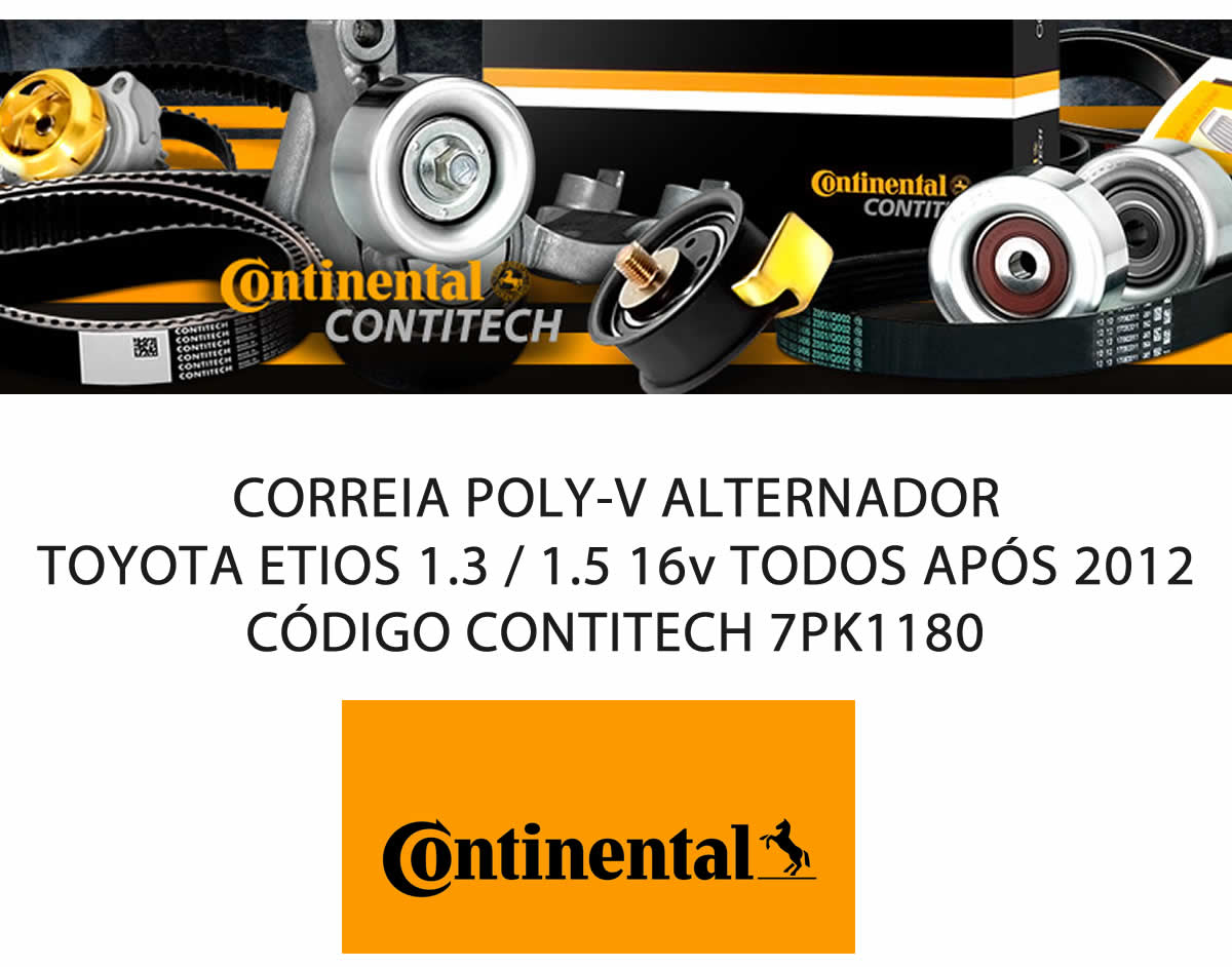 Correia Poly-V Alternador Toyota Etios 1.3 / 1.5 16v Após 2012  - Unicar