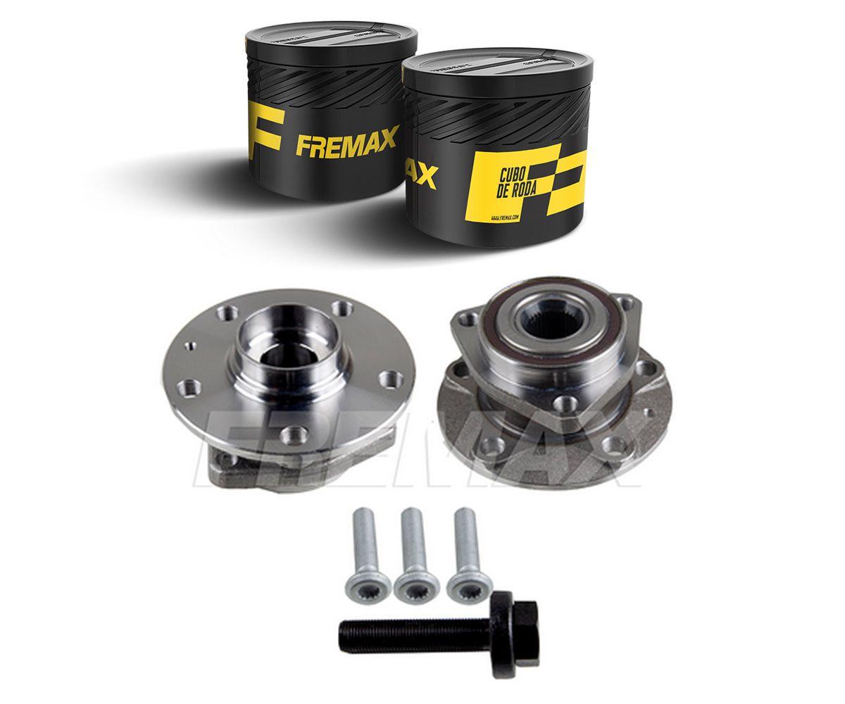 Cubo com Rolamento Roda Dianteira Audi A3 1.4 TFSI  A3 1.8 TFSI A3 2.0 TFSI